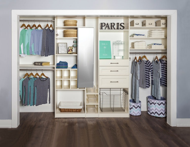 chattanooga reach in closet system