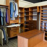 custom walk in closet design chattanooga
